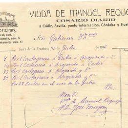 VIUDA DE MANUEL REQUEJO